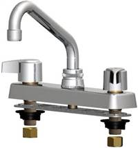 Union Brass™ - 80S - Metal Handles, 6-Inch Tube Spout, Less Spray