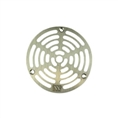 "Watts 8132095 1 Nickel Bronze Grate for A5 1 Drain 4 7/8"" Outside Measurement."