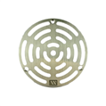 "Watts B6PG 1 Nickel Bronze Grate for B6 1 Drain 5 1/2"" Outside Measurement."