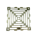 "Watts L6PG 1 Nickel Bronze Grate for L6 1 Drain 5 1/2"" Outside Measurement."