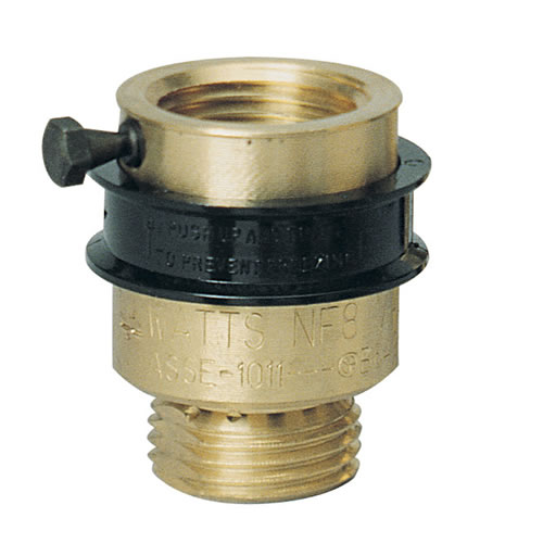 Watts Backflow Prevention Vacuum Breakers Replacement Nf8