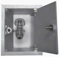 Woodford B24-3/4-AL Model B24 3/4 Box Hydrant, Aluminum Box